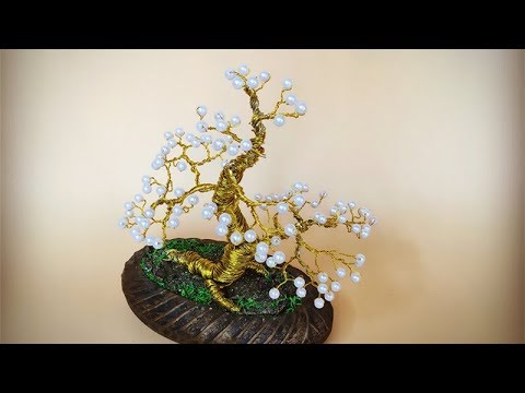 ABC TV | How To Make A Bonsai Tree From Copper Wire - Craft Tutorial #4