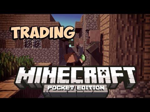 0.9.5 | TRADING VILLAGERS MOD! - Minecraft Pocket Edition