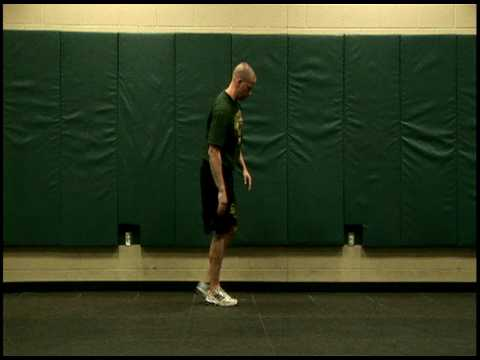 DYNAMIC FLEXIBILITY:  ANKLE & QUAD PULL