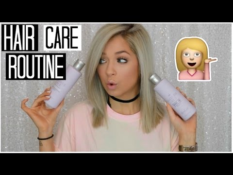 Hair Care Routine | How to Repair Damaged Hair & Keep Blonde Hair Healthy