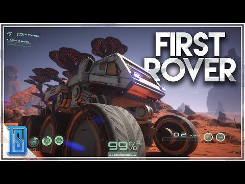 Osiris:New Dawn -Part 6 - Vehicle Building/Rover Gameplay/Spaceship Prep!