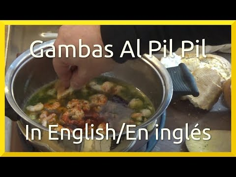 How to Cook Gambas Al Pil Pil | Shrimp in Garlic & Chilli Butter