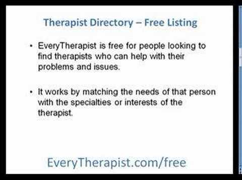Counseling Directory to Find A Therapist