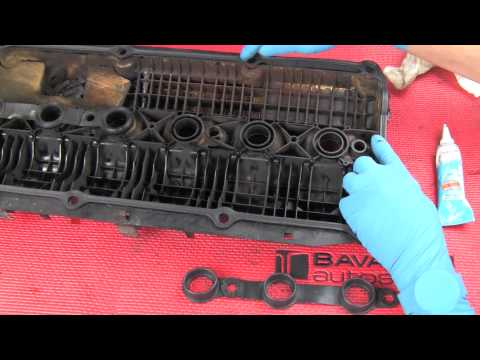 Part 2- Replacing a BMW 6-cylinder valve cover gasket