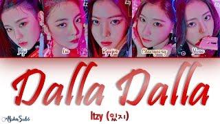 Download ITZY (있지) - DALLA DALLA [달라달라] Color Coded Lyrics/가사 [Han|Rom|Eng] Video