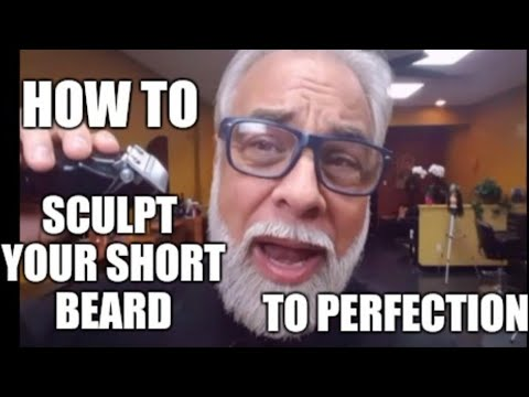 How to sculpt your short beard to perfection