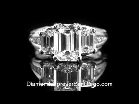 Choosing A Diamond-Shapes|Buying Engagement Rings In San Di