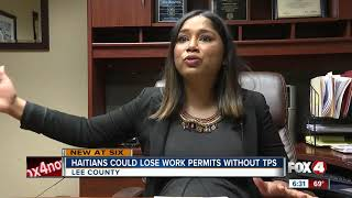 Haitians could lose work permits without TPS