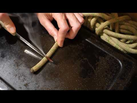 Cutting and Sealing a Nylon Rope