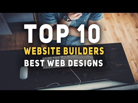 Top 10 Website Builders - Best Web Designs - Free - Beginners - Without coding