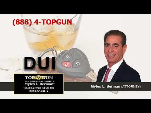What Happens When Somebody Hires Myles L  Berman For A DUI Case In California?