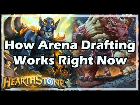 [Hearthstone] How Arena Drafting Works Right Now