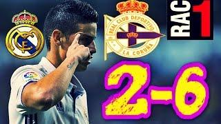 AUDIO RAC1 | DEPORTIVO 2-6 REAL MADRID | COMPLETO |