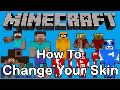 ✔️Minecraft: How to change your skin/pc (windows 10)