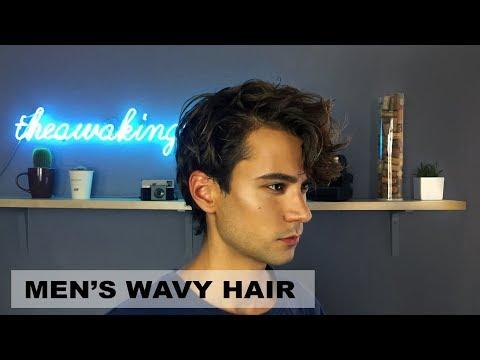 Men's Wavy Hair | Textured Hairstyle | My Hairstyles | Ruben Ramos