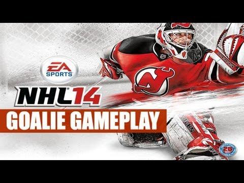 NHL 14 - Goalie Gameplay Trailer With Analysis