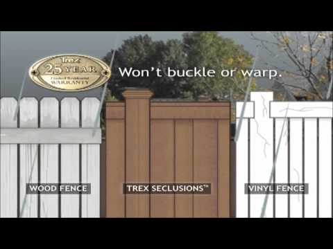 Trex Seclusions Fence (Animated Promotional Video)
