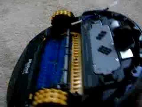 iRobot Dirt Dog - Removing the Brushes