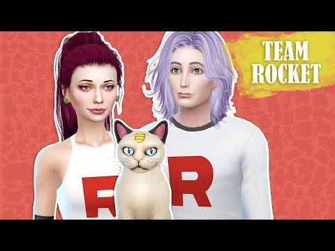 TEAM ROCKET Sims 4 || Create a Sim || Simsbiosis