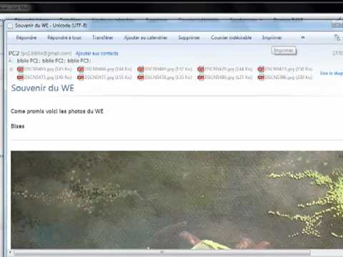 01 Windows Live Mail installation calendrier contacts