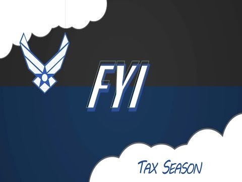 FYI: Tax Season