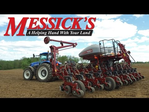 Case IH Early Riser 2150 and 1245 Planting Corn