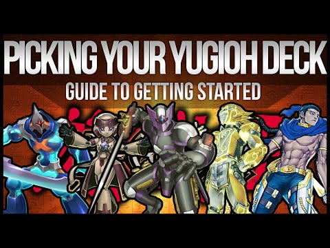 What Yu-Gi-Oh Deck Should You Build? Beginner's Guide to Choosing!