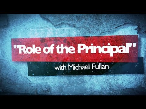 Topic Series 8 - Role of the Principal