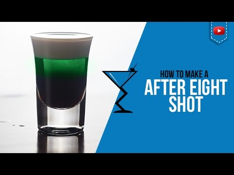 After Eight Shot - How to make a After Eight Cocktail Recipe by Drink Lab (Popular)