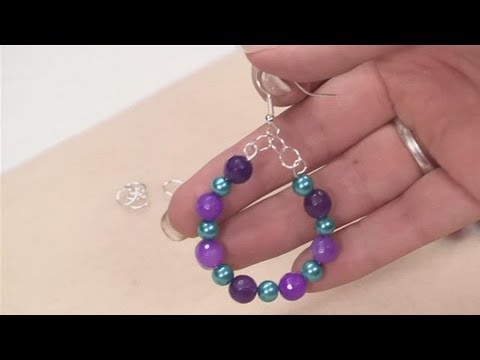 How To Make Hoop Earrings With Beads