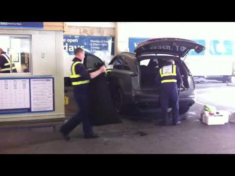 MCR tesco extra car wash