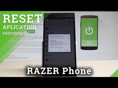 How to Reset App Preferences on RAZER Phone - Reset App Settings |HardReset.Info