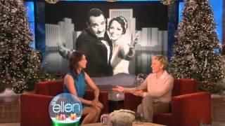 The Ellen Show  Meets Berenice Bejo from The Artist
