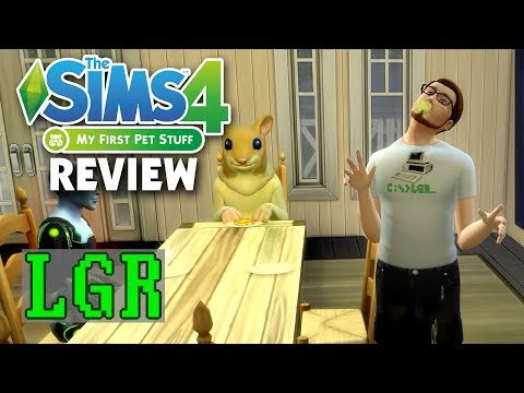 LGR - The Sims 4 My First Pet Stuff Review