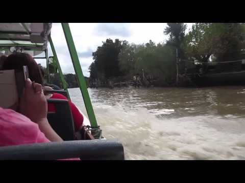 Boat Trip in Tigre, Buenos Aires Province, Argentina - May 17, 2015