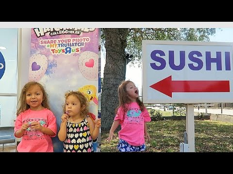 Free Hatchimals CollEGGtibles Event at Toys R Us and Sushi Lunch!