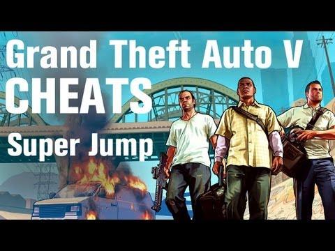GTA 5 Cheats - Super Jump