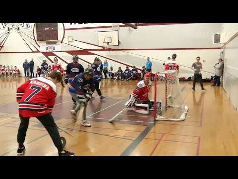 Matt About Town: Special Olympics BC Floor Hockey take on BCHL Cowichan Capitals