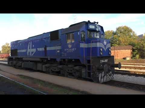 (HD) Croatia - GM/EMD Diesel power! 2044 007 from Zagreb - Varazdin, 18/10/17.
