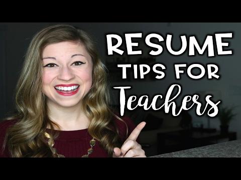 Resume Tips for Teachers | That Teacher Life Ep 29