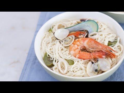 Misua Seafood Noodles Recipe | Yummy Ph
