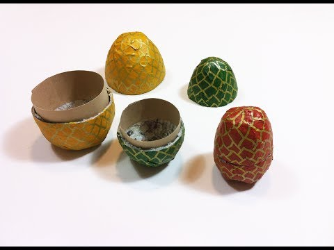 How to Make Home-made Paper Mache Egg-Boxes (DIY Tutorial)