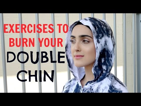 How To Get Rid of DOUBLE CHIN | Jawline/Chin Exercises To Burn Fat + TIPS! ~ Immy