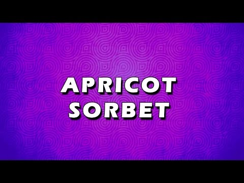 APRICOT SORBET | EASY TO LEARN | EASY RECIPES
