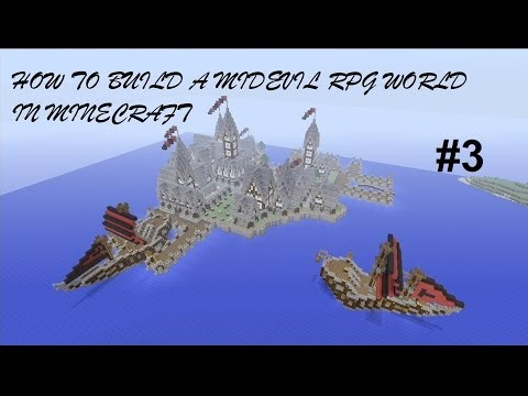 How to build a Mideval RPG World in Minecraft - Episode 3 ( Xbox 360 )
