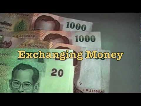Exchanging Money for Thai Baht