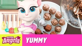 Talking Angela - Vegan Chocolate Power Balls (Yummy Recipe)