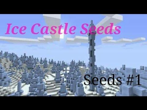 Seeds Ice Castle - Minecraft PE | Seeds #1