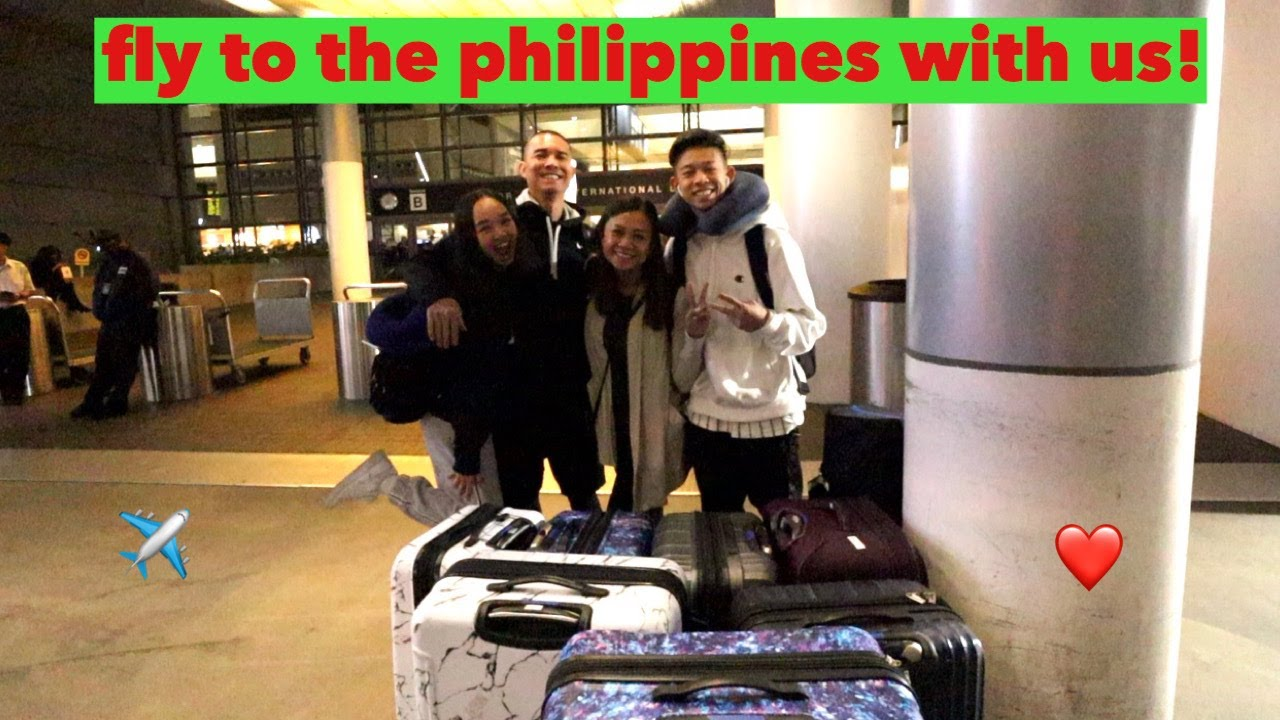 (PHILIPPINES) FLY TO THE PH WITH US! Vlogmas Day 22 | Nicole Laeno
