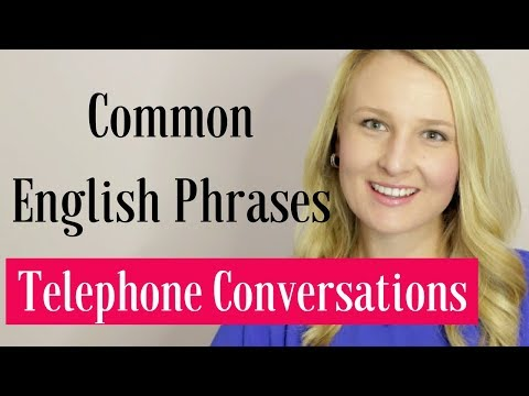 Common English Phrases for Phone Conversations